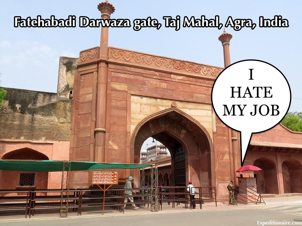 Welcome to the Taj Mahal - I Hate My Job