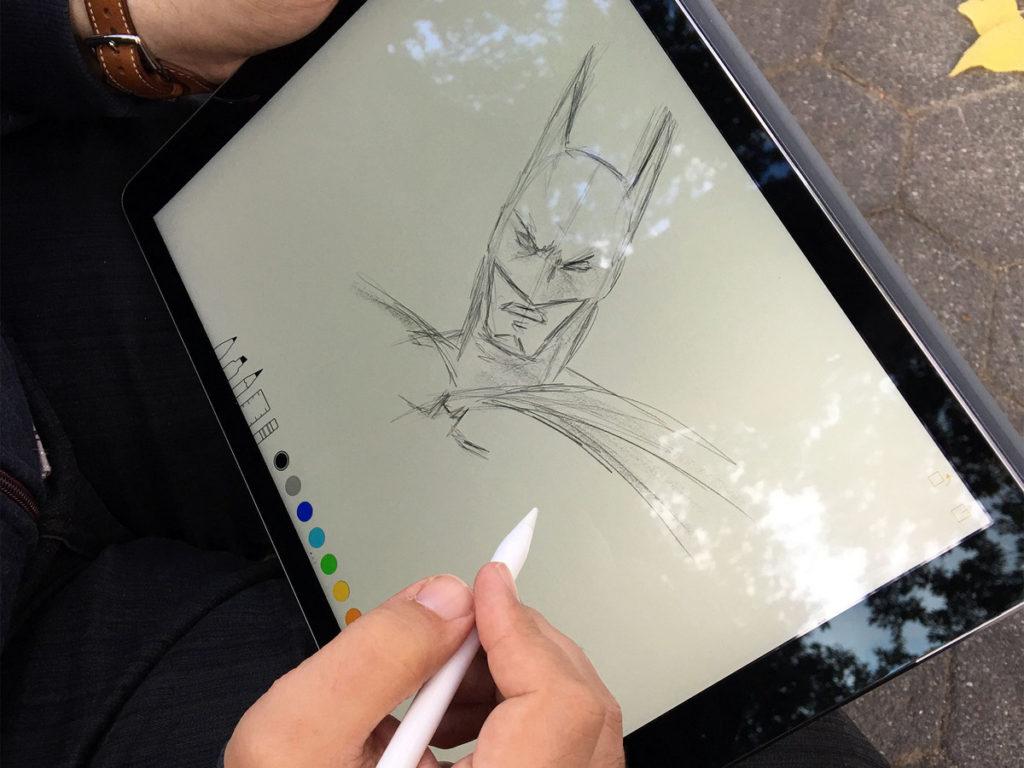 iPad Pro Batman